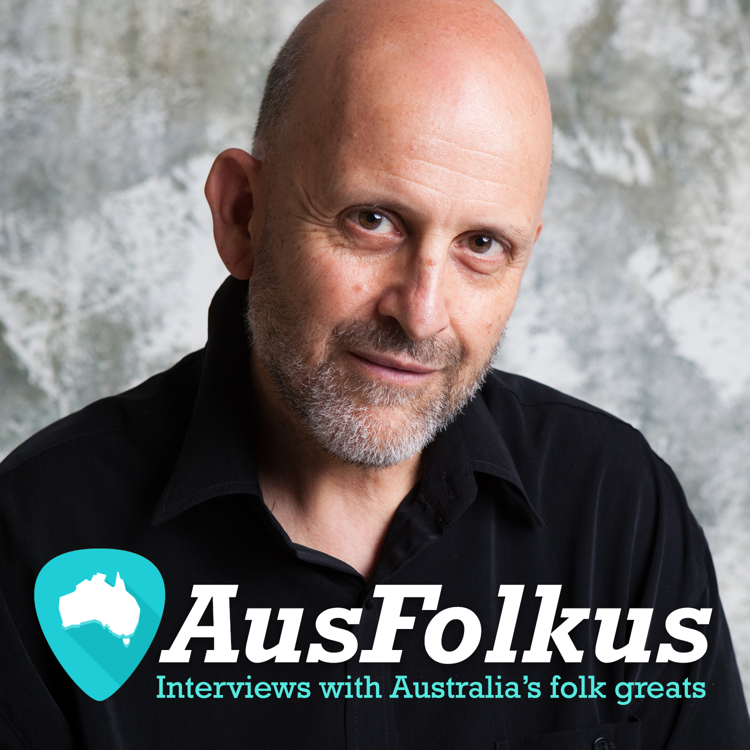 AusFolkus podcast cover - Andy Busuttil and title